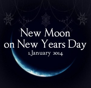 NEW MOON in JANUARY 2014